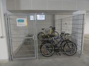 der zweite Fahrradraum